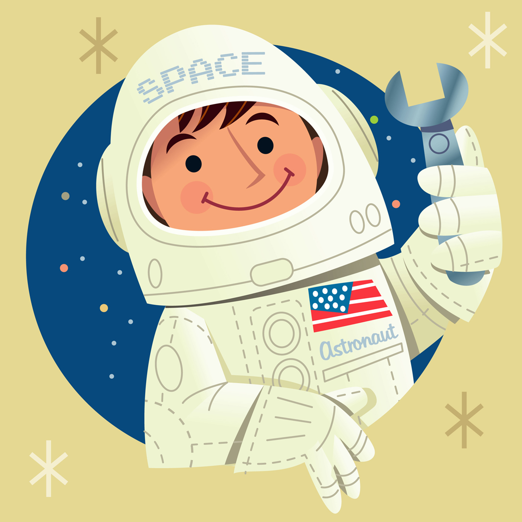 Astronaut clipart for kid Smile Clipartwork Images (3109) Clipart