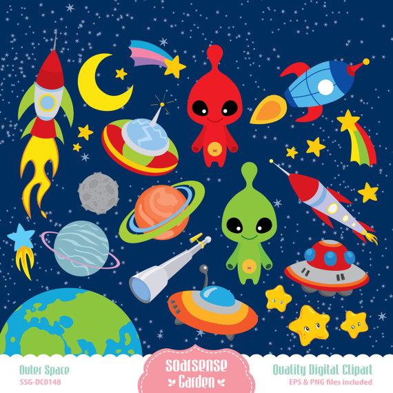 Space clipart universe #3