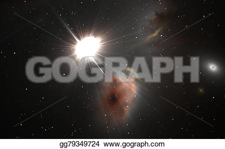 Universe clipart space background Quasar and quasar for for