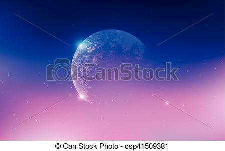 Universe clipart space scene Stars galaxies csp41509381 with scene