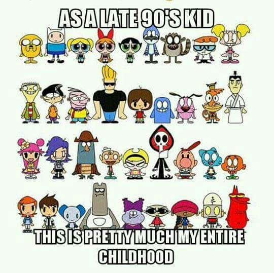 Unknown clipart childhood memory Cartoon Memories90s Kid and 90s