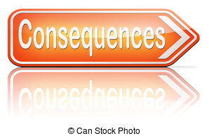 Unknown clipart consequence 32 facing and consequence Stock