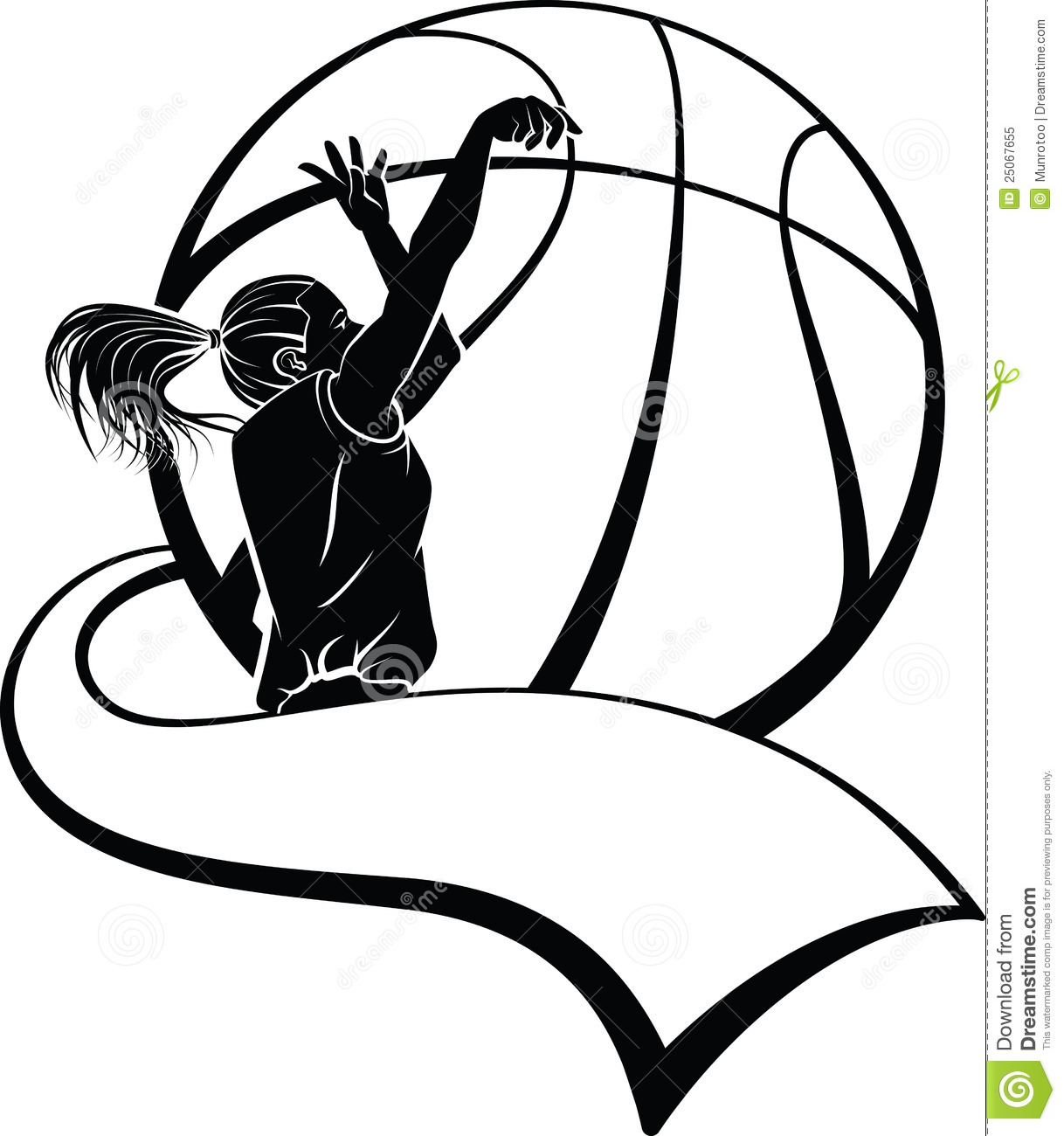 Unknown clipart female patient Clipart Basketball Basketball Girls Design