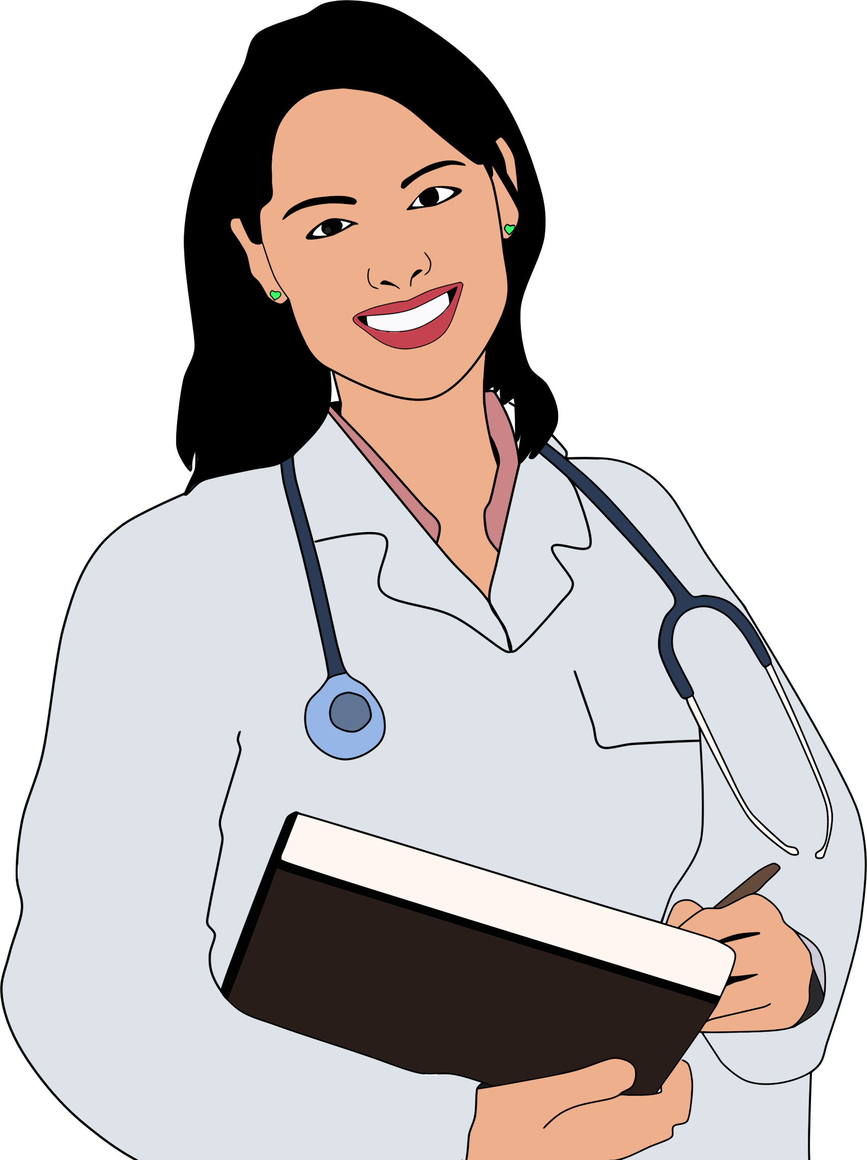 Unknown clipart female patient 198510272 Young Doctor  Doctor