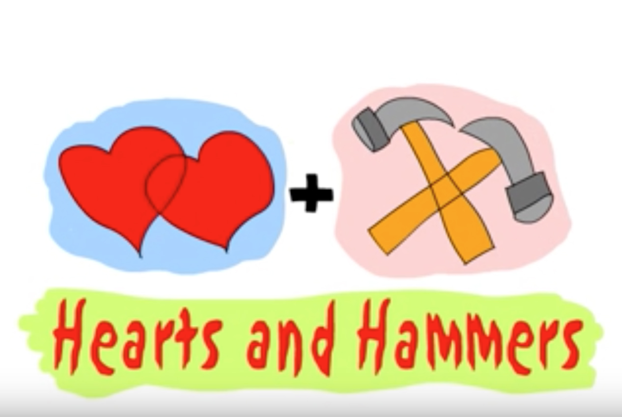 Unknown clipart honest person Why hide HeartsAndHammers and and