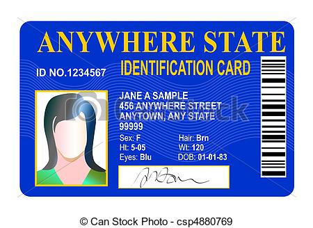 Card clipart identity #1