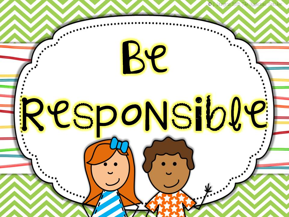 Overview clipart responsible #9