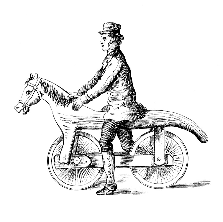 Unusual clipart Early  Horse – Antique