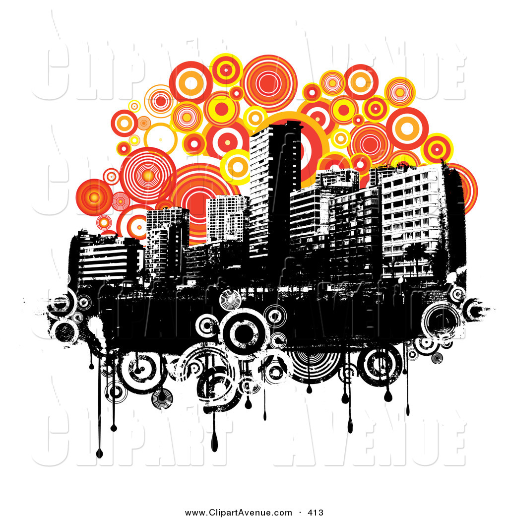 Urban clipart And White Clipart on Urban