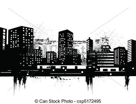 Urban clipart Of Skylines urban  skyline
