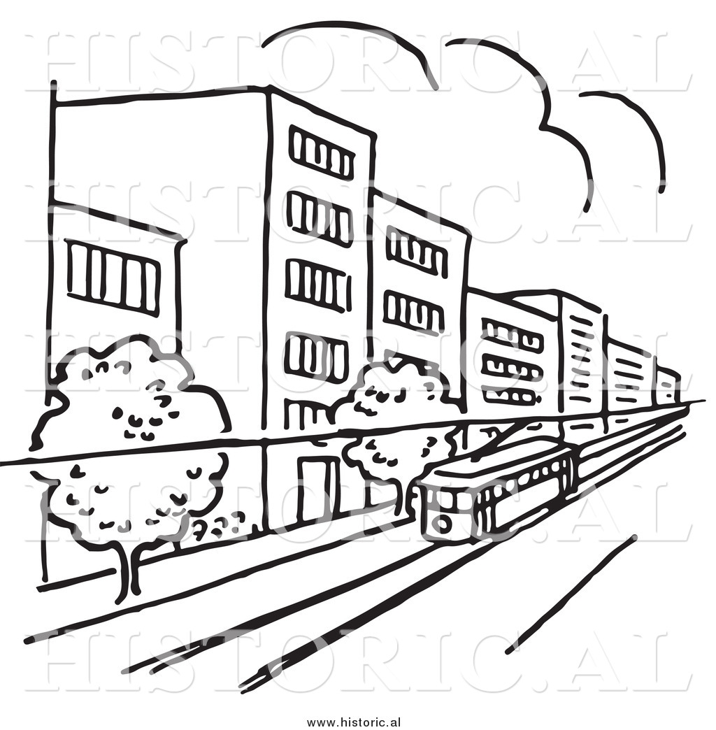 Building clipart city street Buildings (3620) — And Clipartwork