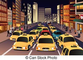 Town clipart busy city #2