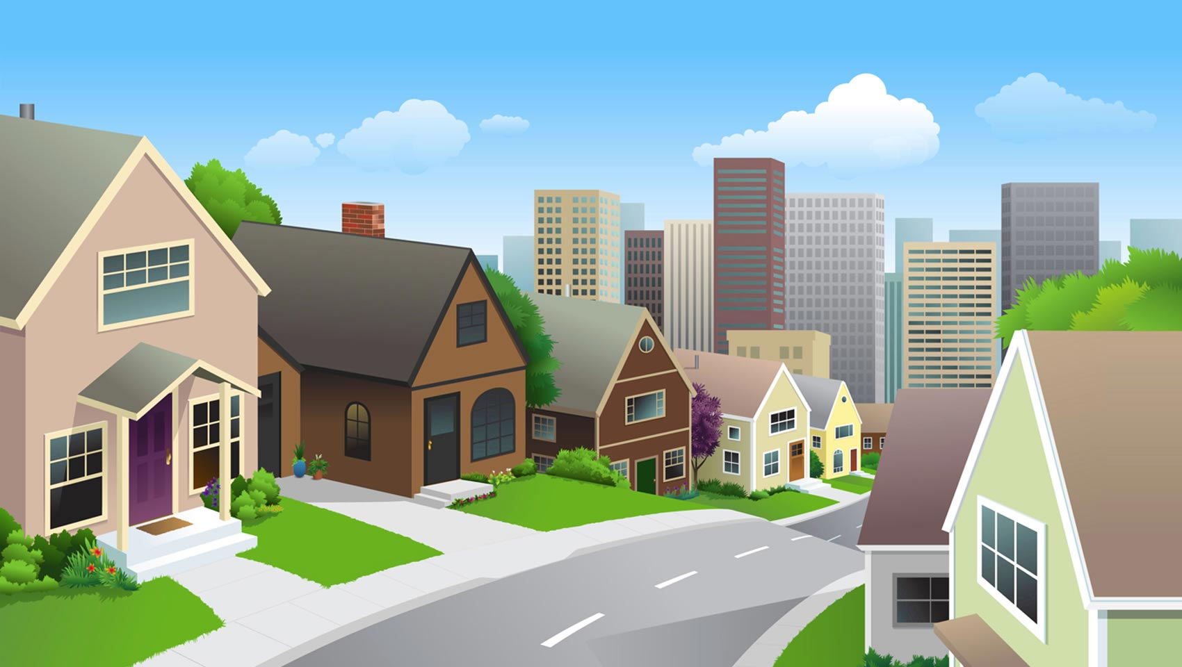 Community clipart neighborhood Love Clipart Free — City