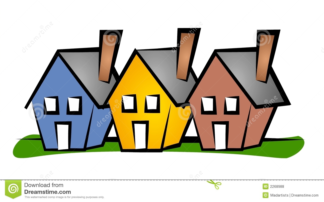 Community clipart housing community Housing Clipart cliparts Community Housing