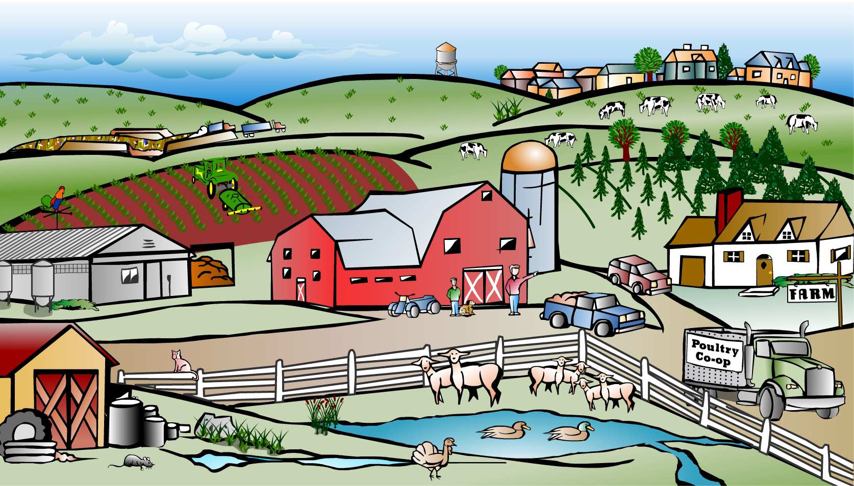 Community clipart town Town cliparts Town Cliparts Zone