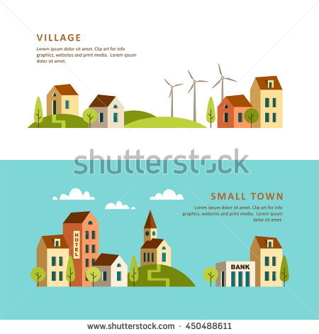 Countyside clipart urban rural Rural and urban Projects of
