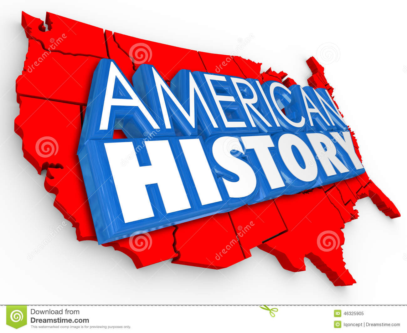 Us History clipart united states Photo Words American History States