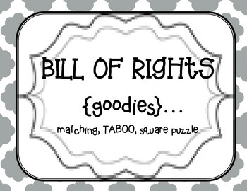 Us History clipart bill rights Of  All of Rights