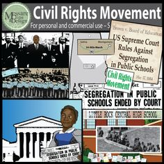 Us History clipart civil rights movement  Malcolm Mohammed / /