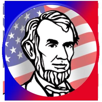 Us History clipart lincoln History Get Abraham history Badge