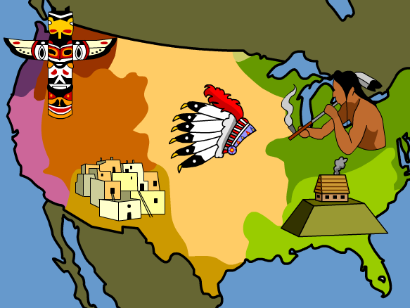 Us History clipart native americans Indians BrainPOP American