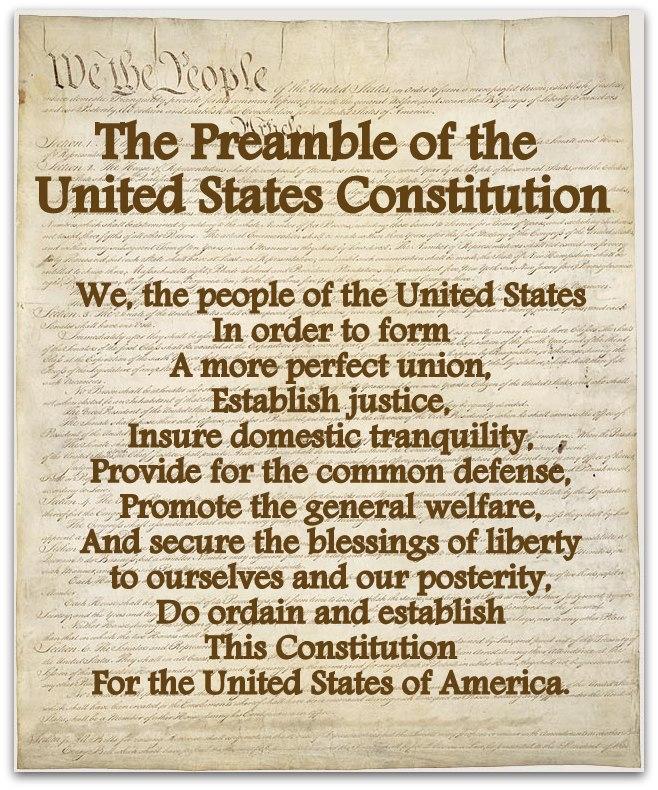 Us History clipart preamble Preamble the preamble preamble