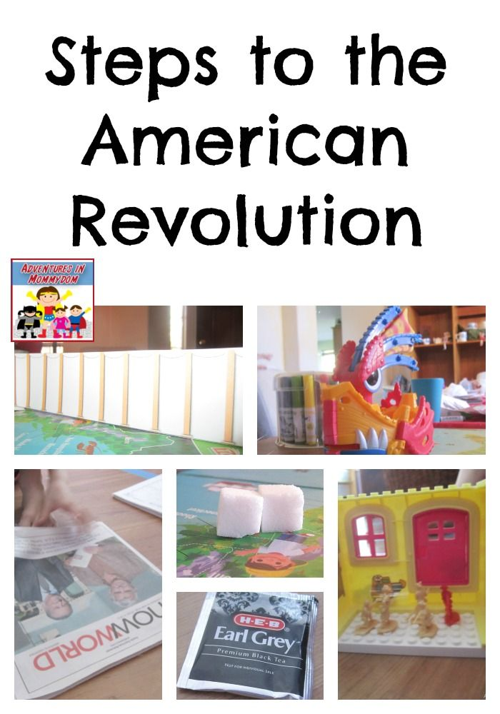 Us History clipart written American to history Revolution on