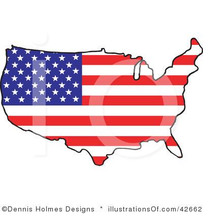 USA clipart Clipart Art Clipart Clip Map