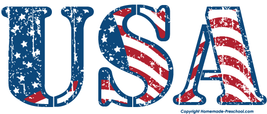 Text clipart usa To Clipart Free Click Image