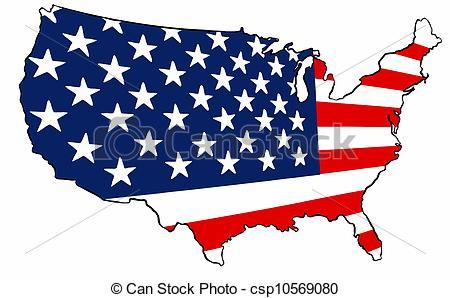 USA clipart america Map Clip Free Clipart United
