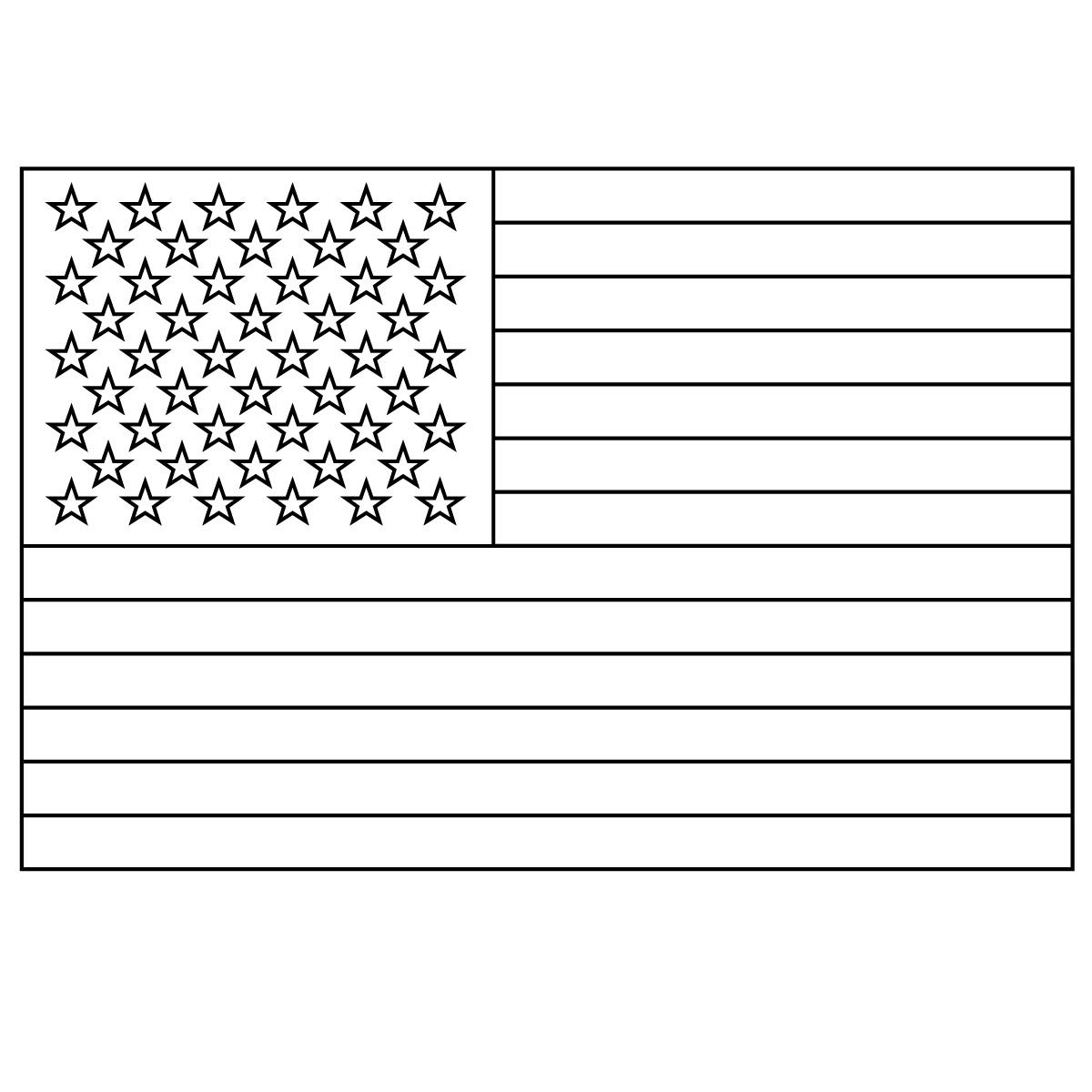 USA clipart america Clipart Flag A 19552wall S