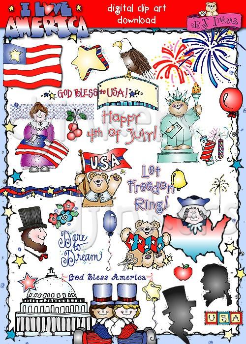 USA clipart america By USA the states USA