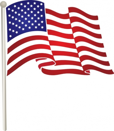 American Flag clipart simple Flags American clipart clip and