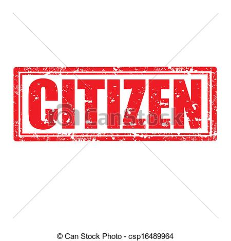 USA clipart citizenship Citizen with stamp stamp stamp