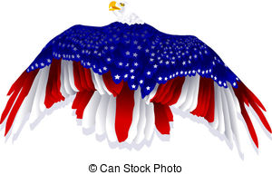 Bald Eagle clipart patriotic Clipart eagle flag American collection