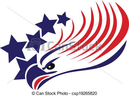 Miniature clipart american flag Clipart American Bald eagle eagle: