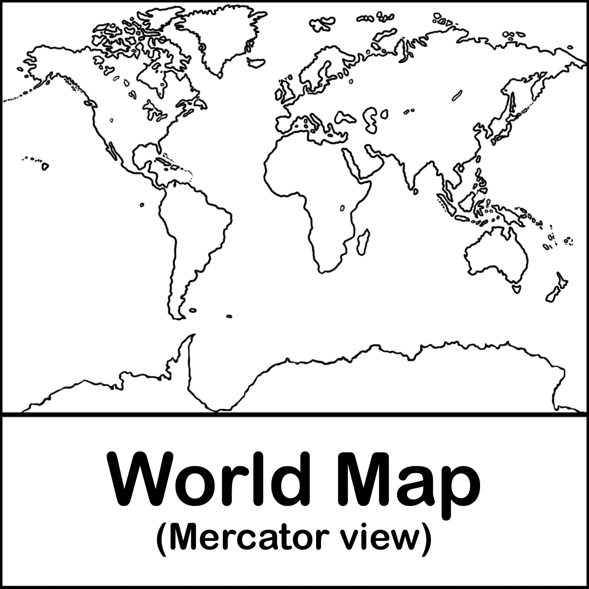 DEVISworldmaps Treasure Map collections Blank
