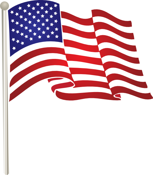 American Flag clipart small Flag at Art States ·