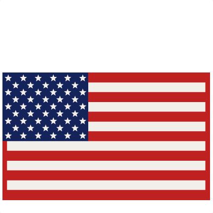 American Flag clipart cute Clipart cut files Flag free