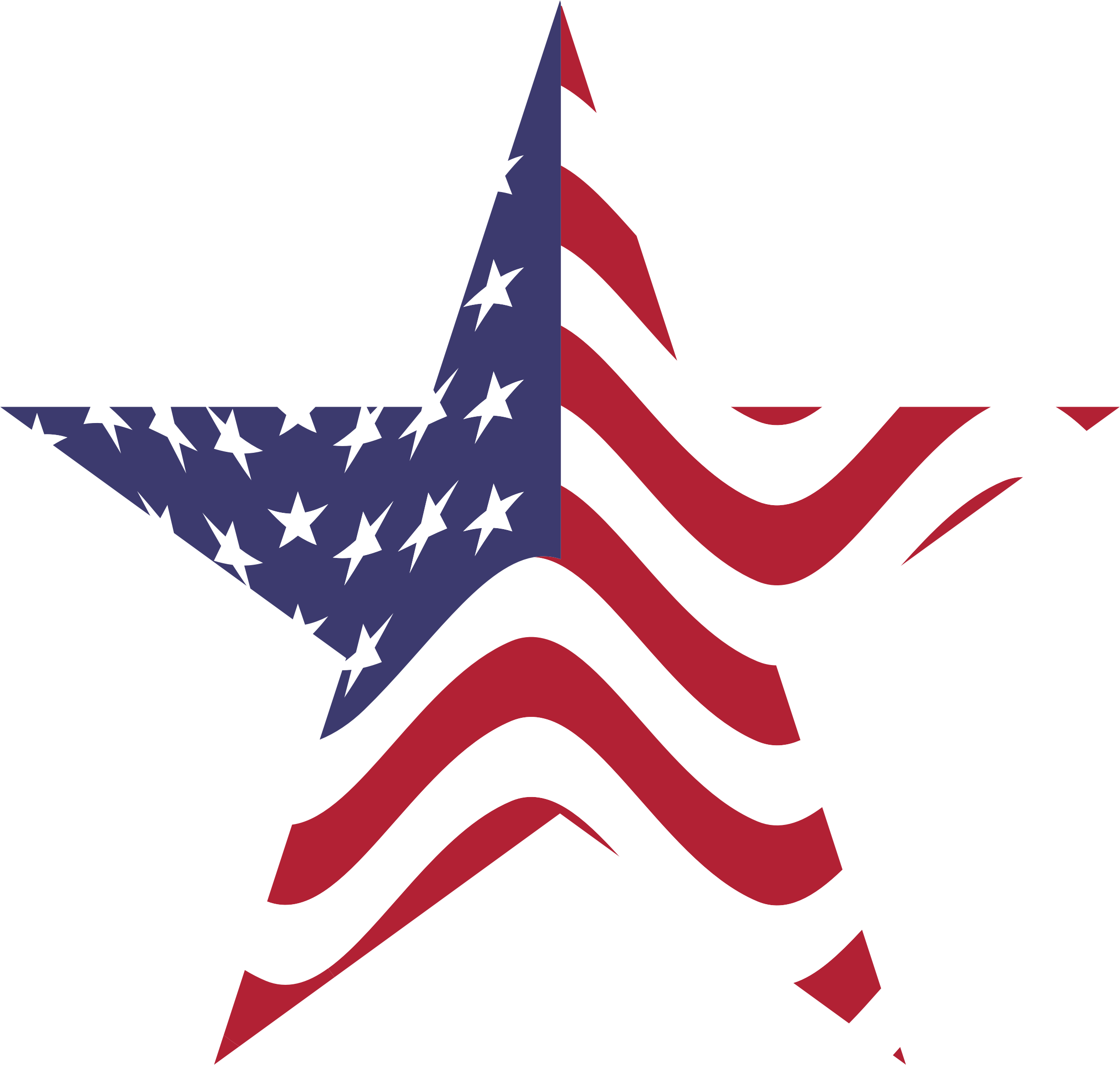 America clipart american star Clipart flag Us american WikiClipArt
