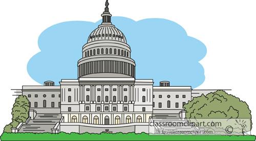 White House clipart senate #9