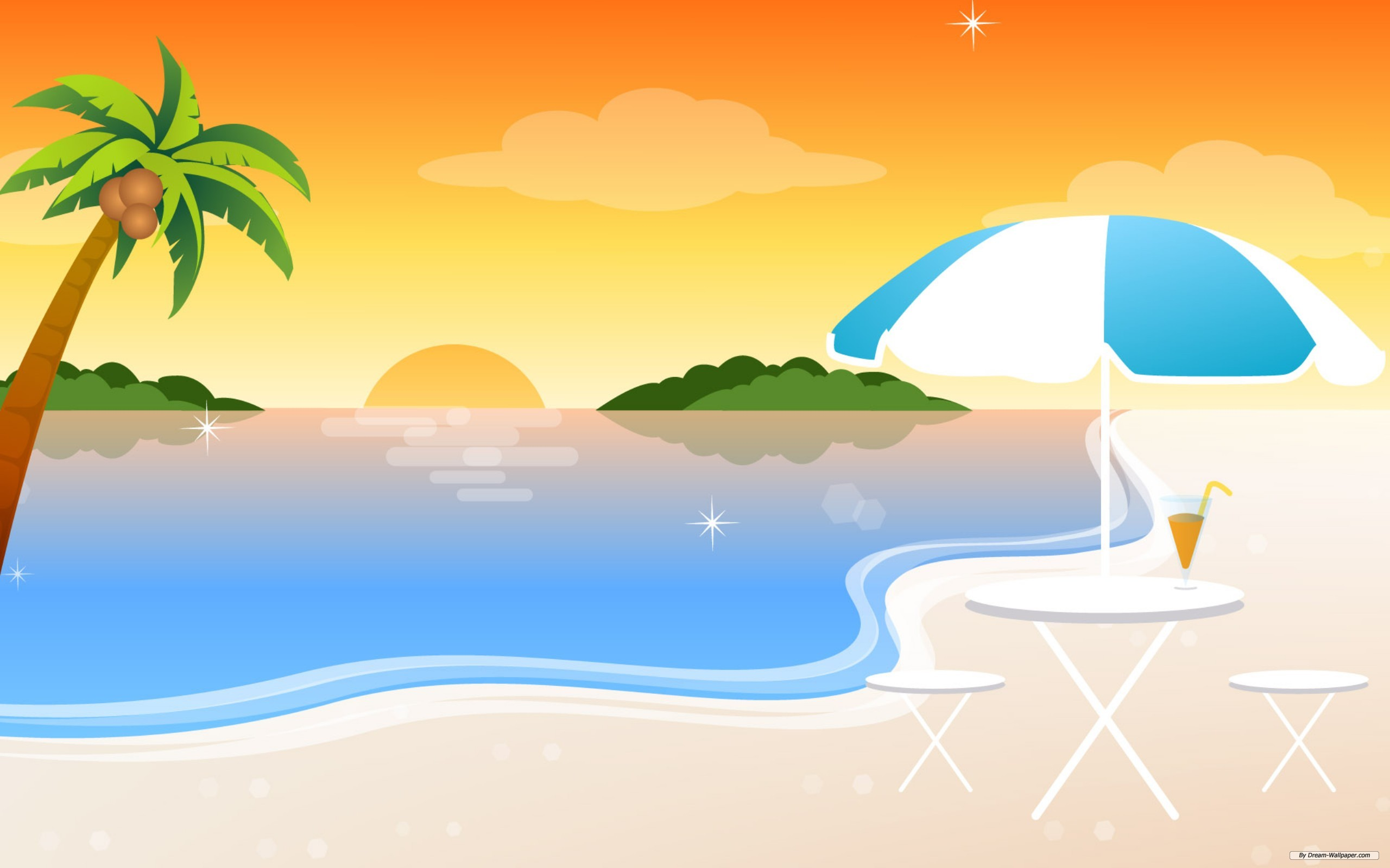 Beach clipart beach background Sunset Inspiration Others and Beach