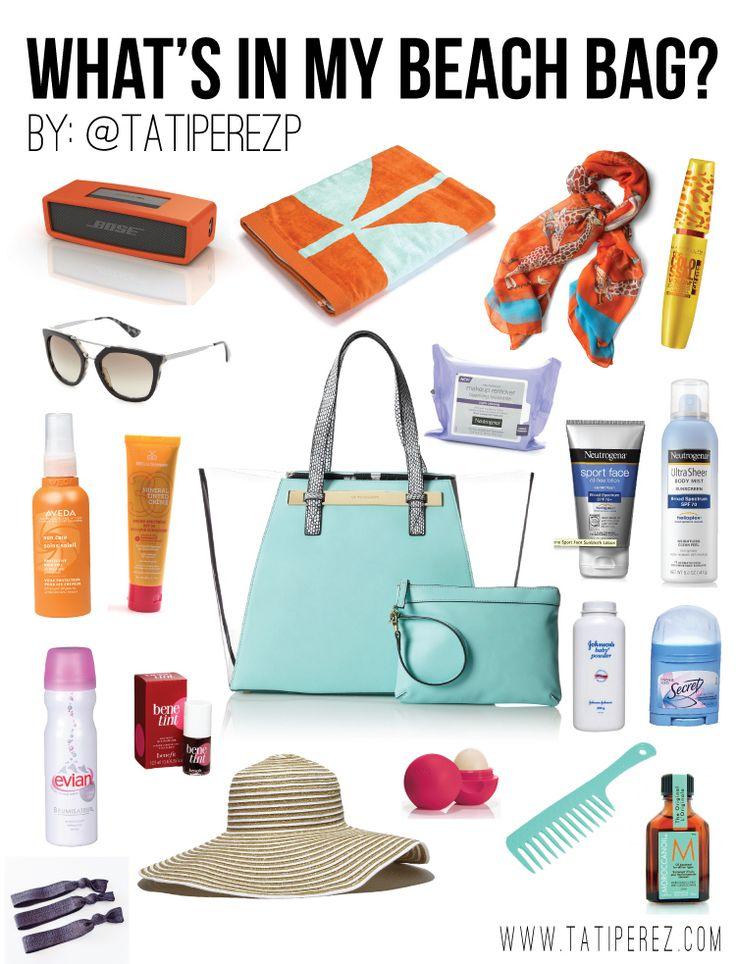 Vacation clipart beach bag Essentials  to Beach to
