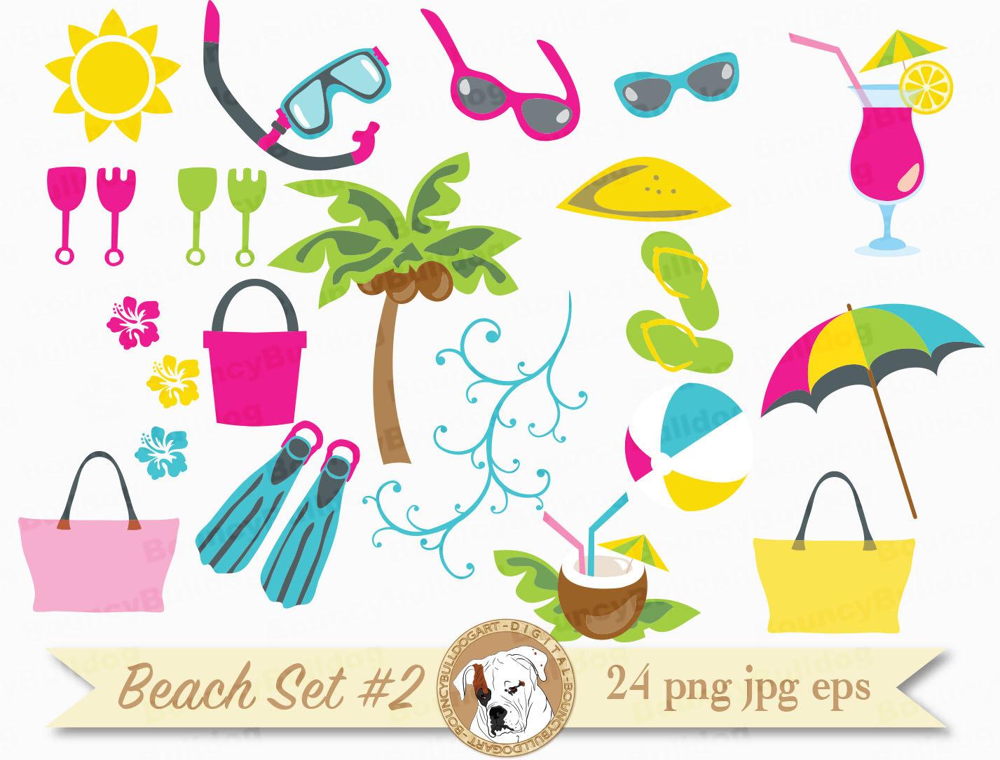 Vacation clipart beach bag A file clipart is Beach