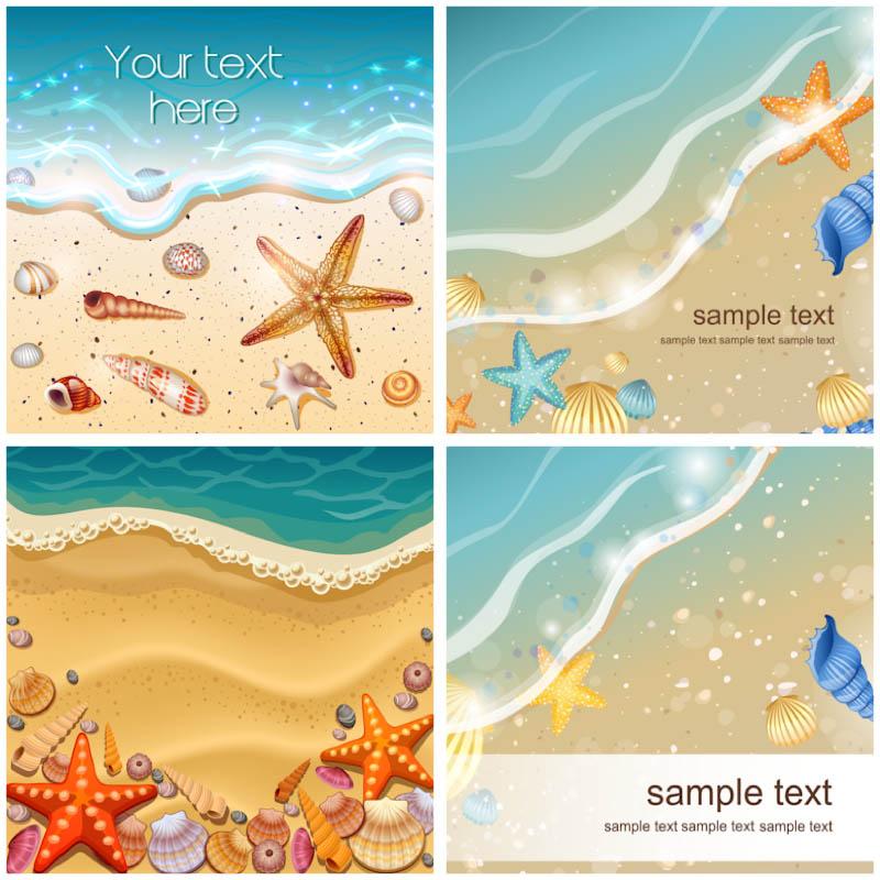 Sea clipart beach background #12