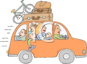 Vacation clipart car ride A Royalty Picture Royalty Vacation