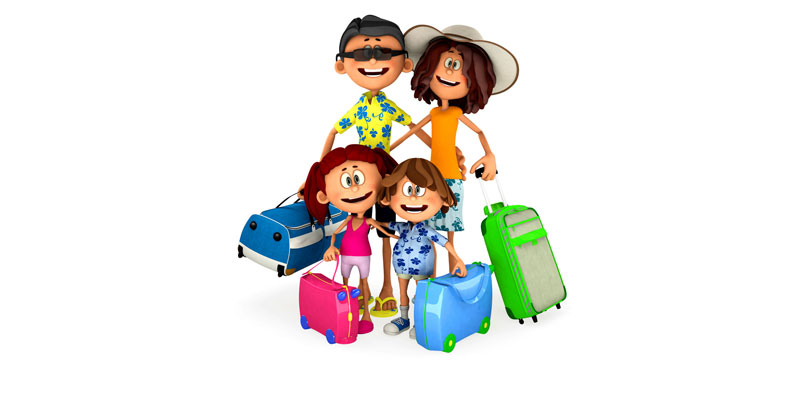 Vacation clipart family vacation Vacation A on  Balance