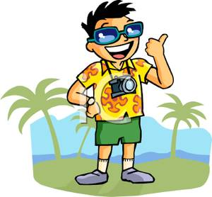 Vacation clipart free time activity Activities vacation free art clip