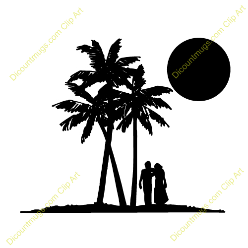 Vacation clipart honeymoon Panda Sand Free honeymoon Clipart