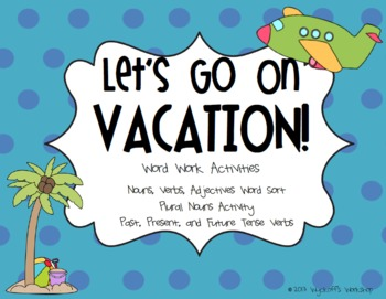 Vacation clipart let's go Vacation! by Teachers On Go